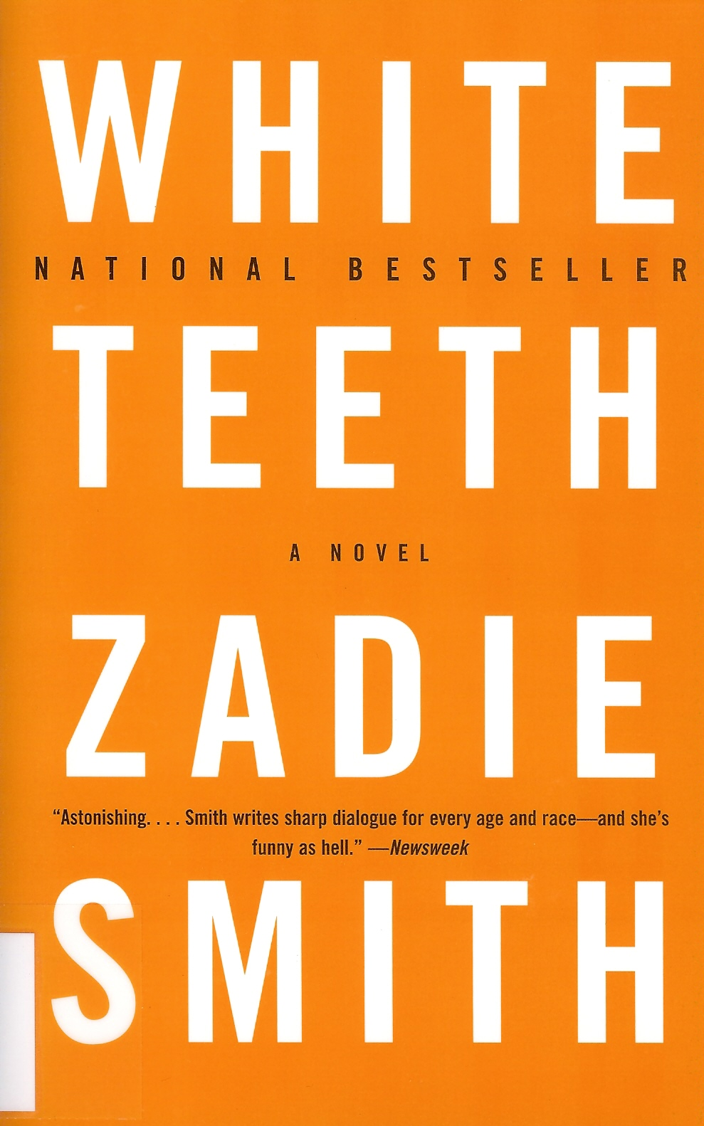 white teeth by zadie smith essay White teeth has been translated into over twenty languages and was adapted for channel 4 television in 2002 zadie smith has also edited an anthology of zadie smith has also edited an anthology of erotic stories, piece of flesh (2001), and was nominated as one of the best of young british novelists.